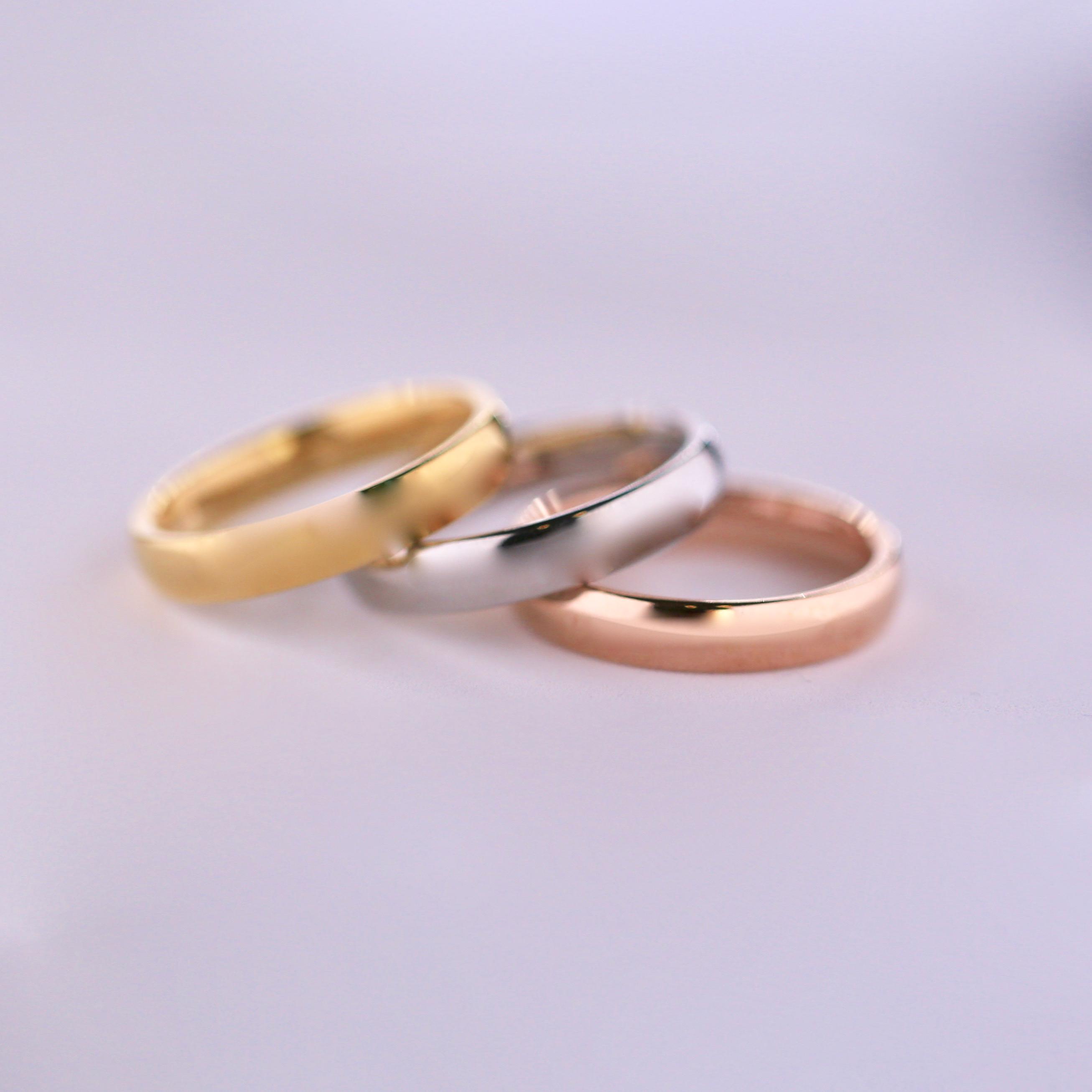 Förlovningsring   vigselring i 18 karats vitguld c6721cfb0ee4a